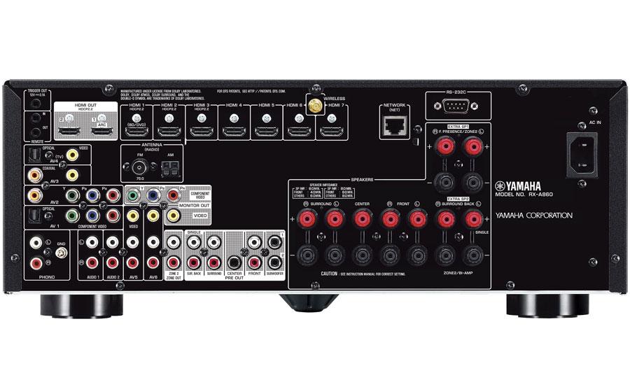 Yamaha RX-A860 AVENTAGE 7 2 Atmos/DTS:X A/V Receiver Review