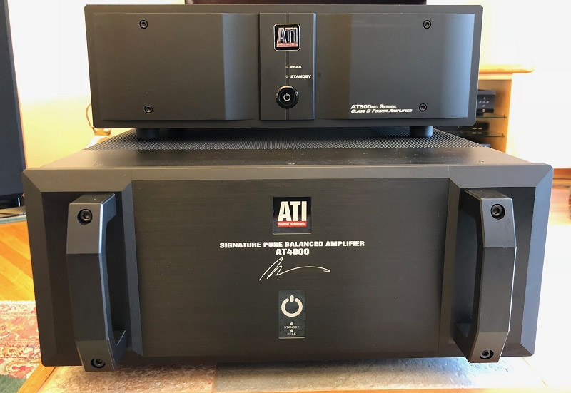 ATI AT4002 Class AB and AT522NC Class D Amplifier Review Shootout