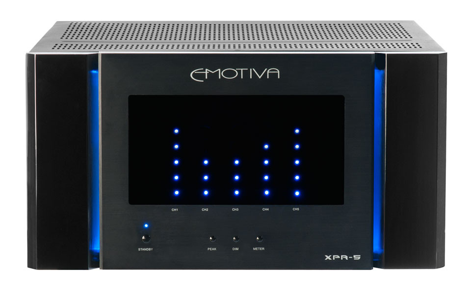 Emotiva Xpr 5 Five Channel Reference Power Amplifier