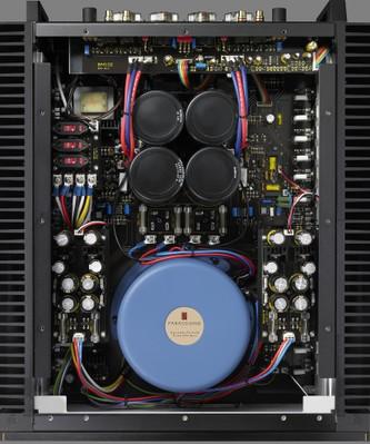 Parasound Halo JC5 amp inside