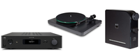 NAD C 658 Streaming DAC, D 3045 Amplifier/DAC, C 588 Belt-Drive Turntable Preview