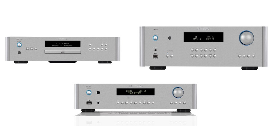 rotel 1572 series integrated amplifier preamp and cd. Black Bedroom Furniture Sets. Home Design Ideas