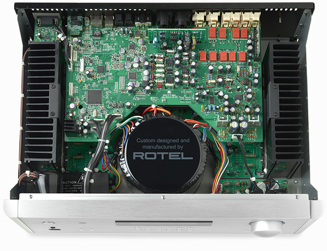 Rotel 1572 Series Integrated Amplifier, Preamp, and CD