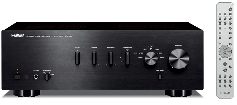 Yamaha+A-S300+Integrated+Amp+and+CD-S300+CD+Player+Preview