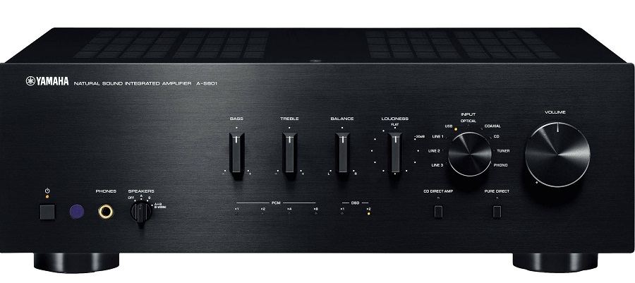 yamaha a s801 integrated amplifier review audioholics