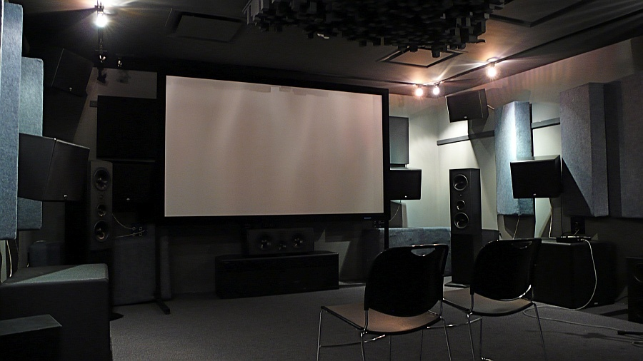 Home Theater Front Stage Design