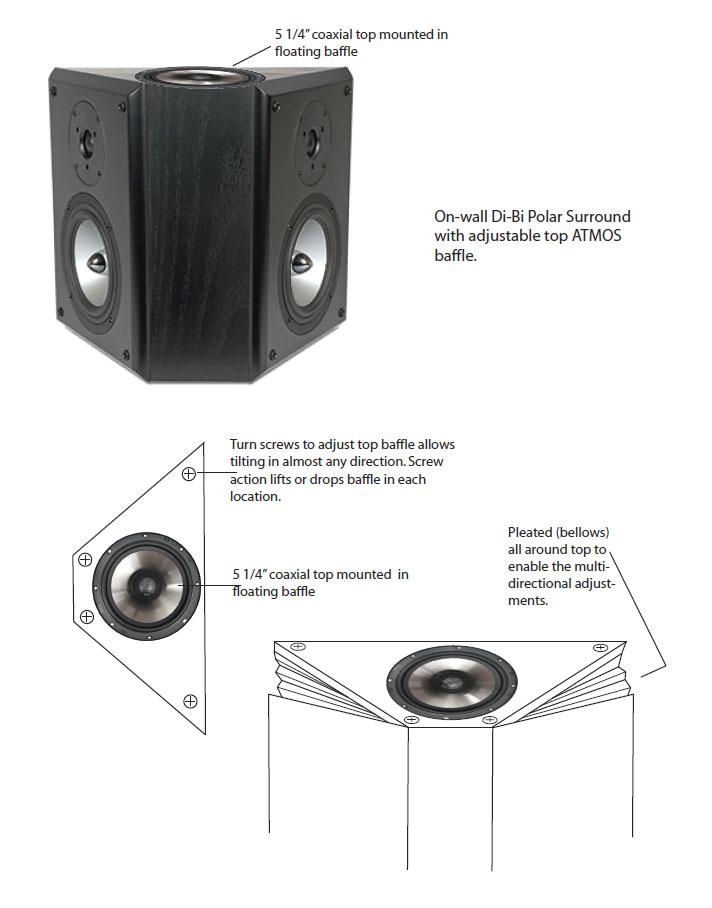 Rbh Steerable Atmos Speaker