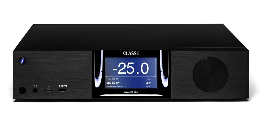 Classé Sigma SSP MkII Preamp/Processor Adds Dolby Atmos, DTS:X and 4K UHD