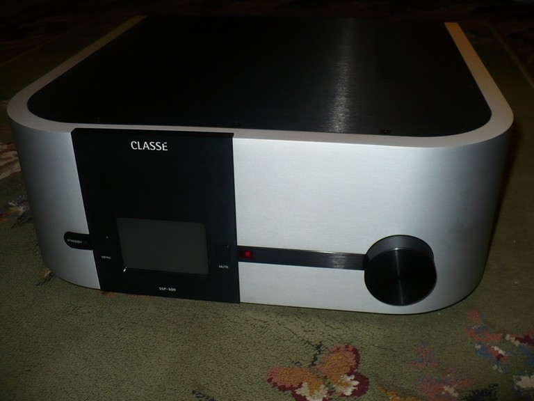 Classe Delta SSP-800 AV Surround Sound Preamp/Processor Review