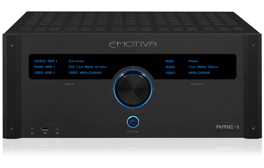 Emotiva Rmc 1 16ch Atmos Dts X Av Processor Preview