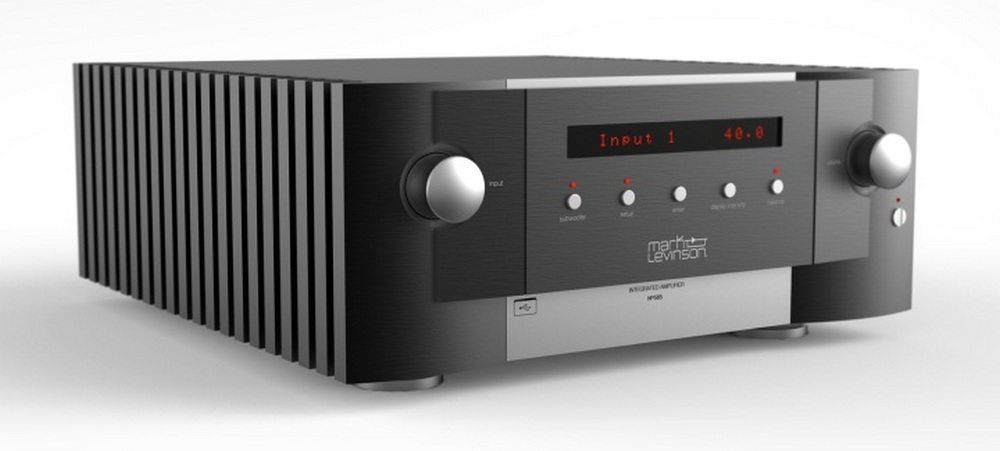 Mark Levinson № 585 Integrated Amplifier Preview Audioholics