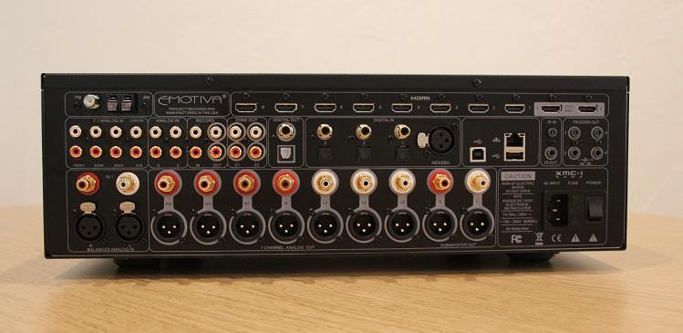 Emotiva Xmc 1 7 2 Channel Av Processor Review Audioholics