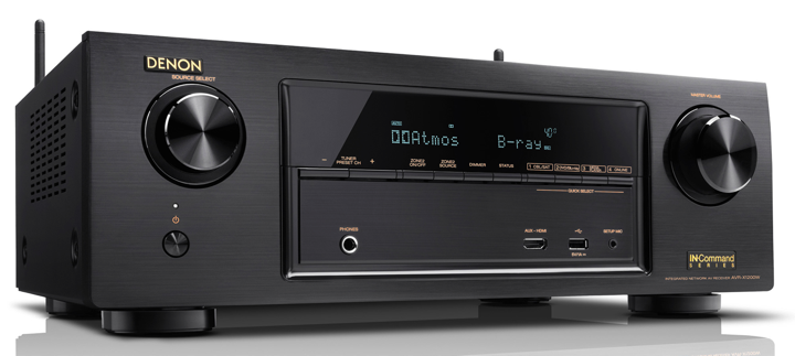 Denon AVR-X1200W / X2200W Dolby Atmos and DTS:X Receivers Preview