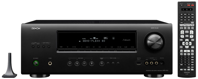 Denon AVR-1912 7.1 Channel Networked A/V Receiver Preview ...