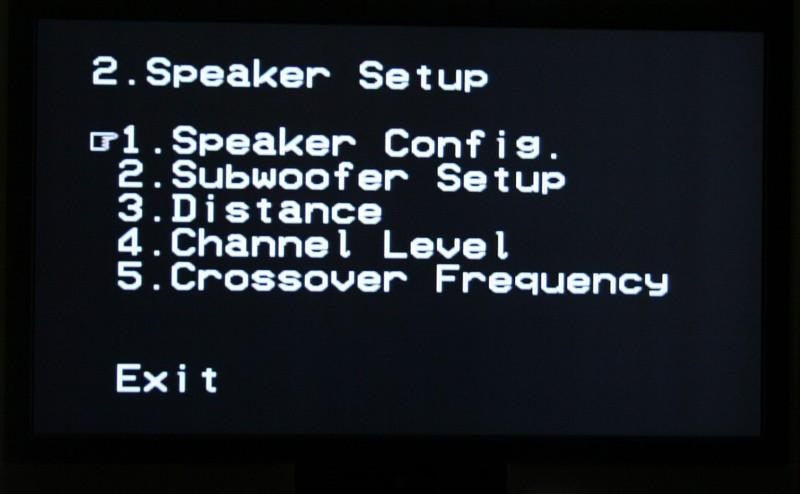 Denon AVR-2307CI: Manual Setup | Audioholics