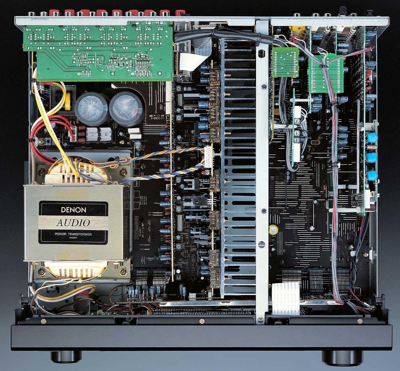 Denon AVR-3805 vs NAD T763 - ecoustics com