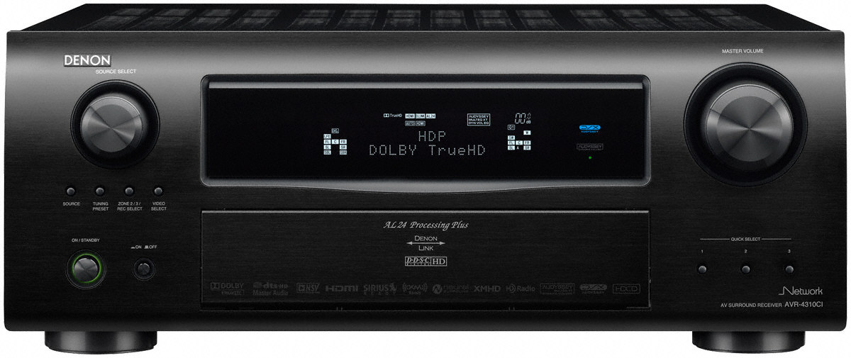 Denon+AVR-4310CI+PLIIz+Networking+A%2FV+Receiver+Review