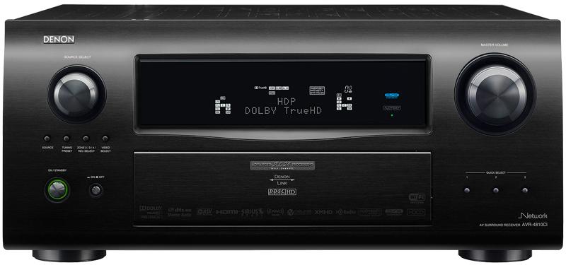denon avr 4810ci 9 3 channel receiver preview audioholics. Black Bedroom Furniture Sets. Home Design Ideas