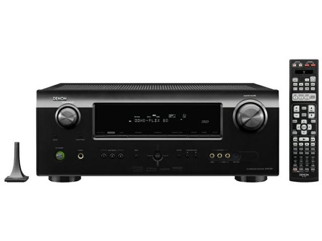 Denon AVR-591 Receiver Preview   Audioholics