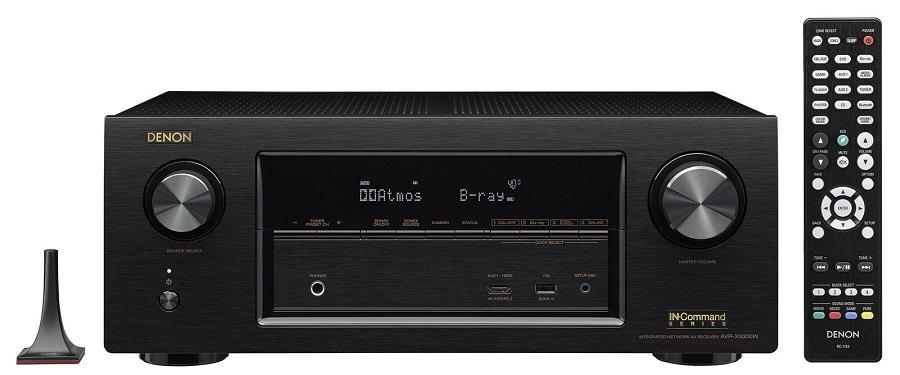 denon avr x3300w atmos dts x av receiver preview audioholics. Black Bedroom Furniture Sets. Home Design Ideas