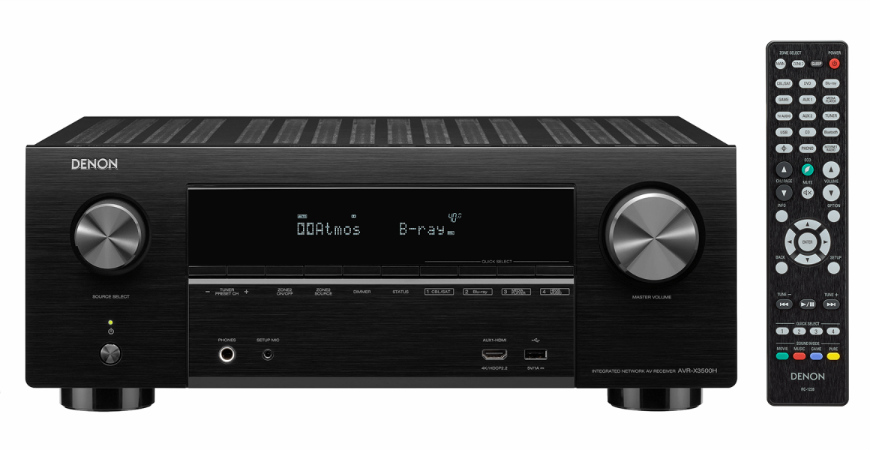 Denon's AVR-X3500H AV Receiver Delivers New Features Worth