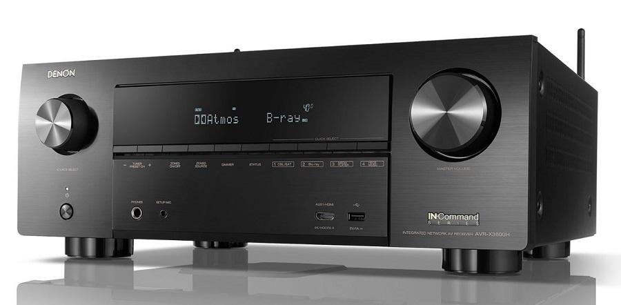 Denon AVR-X3600H 9 2CH IMAX Enhanced AV Receiver Offers Best