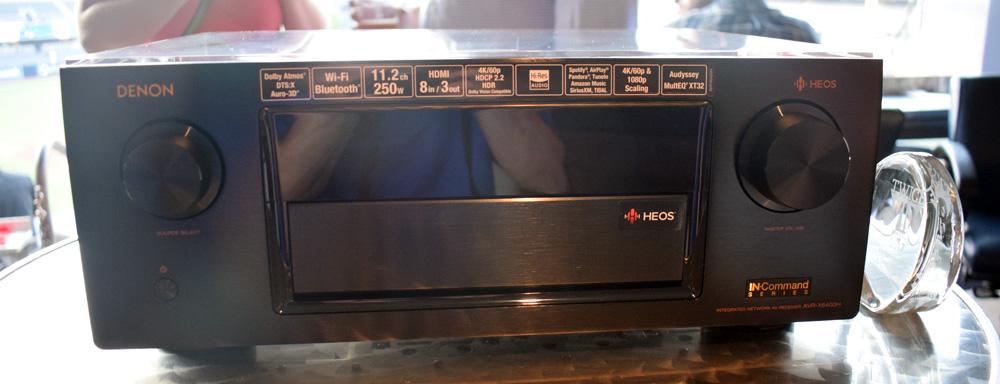 Denon AVR-X4400H & AVR-X6400H AV Receivers Add Alexa