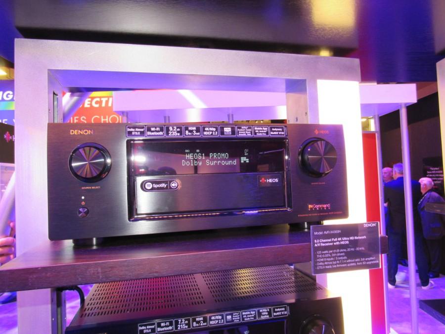 Denon AVR-X6300H / AVR-X4300H Atmos AV Receiver Preview