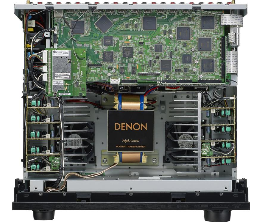 Denon AVR X7200WA AtmosDTSX AV Receiver Review Audioholics
