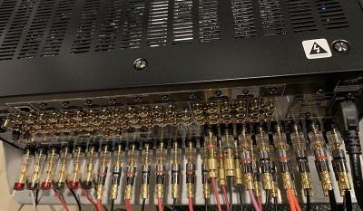 Denon X8500H 15 speaker terminals