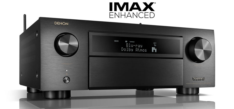 Denon Releases Two Imax Enhanced 4k Av Receivers Avr X4500h