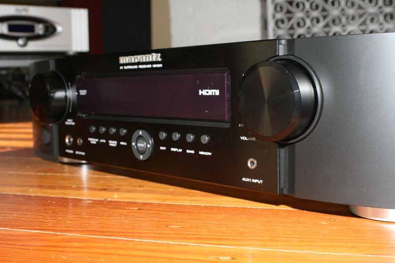 Marantz Nr1501 Slimline Av Receiver Review Audioholics