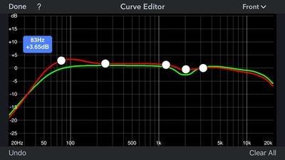 Audyssey curve editor