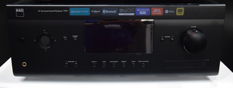 NAD T 777 V3 7 1CH Dolby Atmos 4K UHD AV Receiver Preview | Audioholics