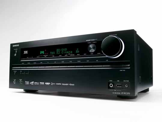 Onkyo+HT-RC370+7.2-Channel+THX+Select2+Receiver+First+Look