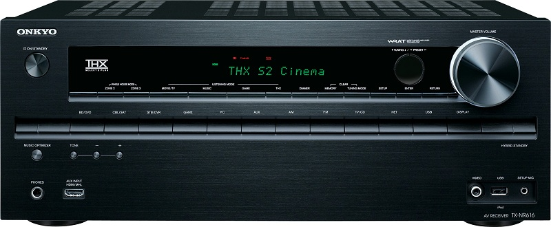 onkyo 2012 budget receiver line preview audioholics Slim Home Theater Receiver Slim Home Theater Receiver