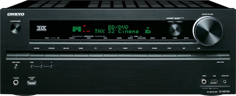 Home Theater Subwoofer >> Onkyo TX-NR709 7.2 Channel Networked THX Receiver Preview ...