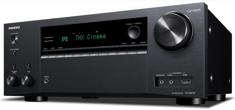 Onkyo TX-NR787 Least Expensive 9 2CH AV Receiver at under