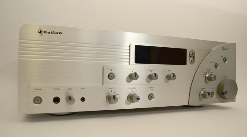 Outlaw Audio RR2150 Stereo RetroReceiver Review | Audioholics