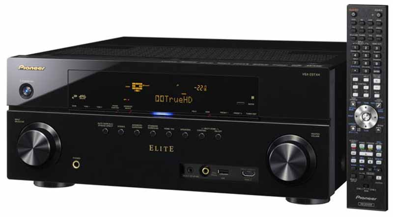 pioneer electronics vsx 23txh 7 1 receiver review audioholics. Black Bedroom Furniture Sets. Home Design Ideas