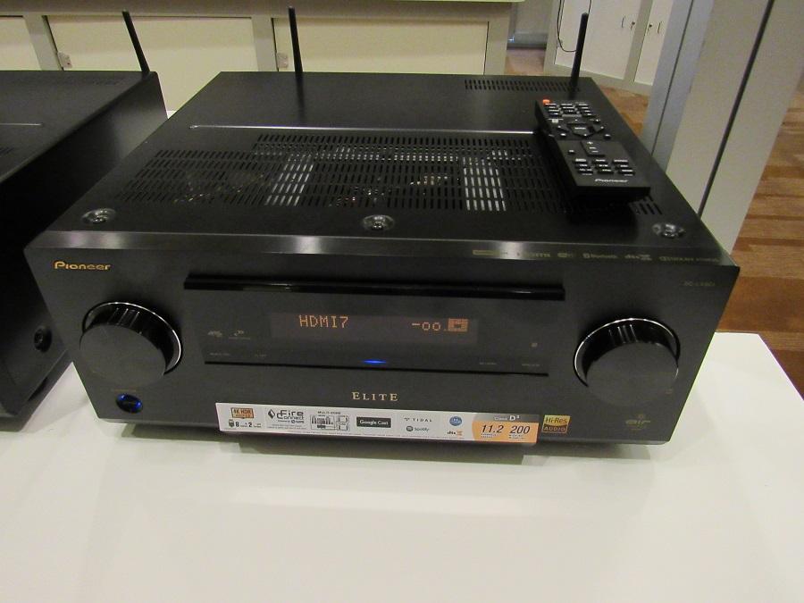 pioneer sc lx901 network av receiver at cedia full screen. Black Bedroom Furniture Sets. Home Design Ideas