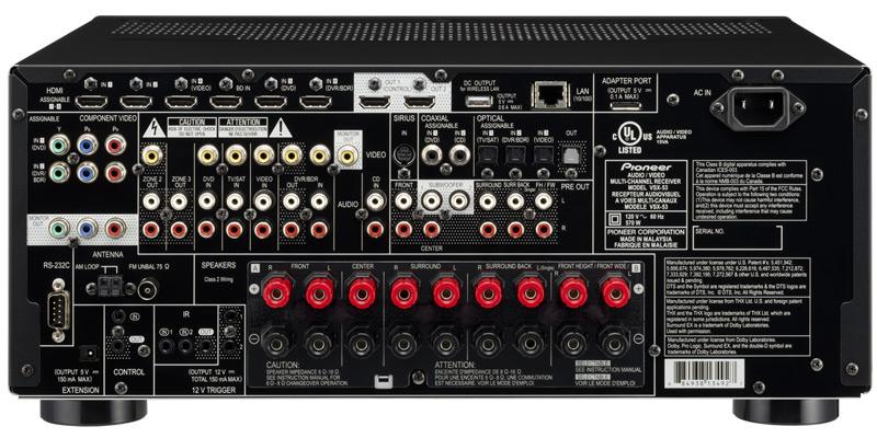 Pioneer Elite VSX-53 3D-Ready Receiver Preview   Audioholics