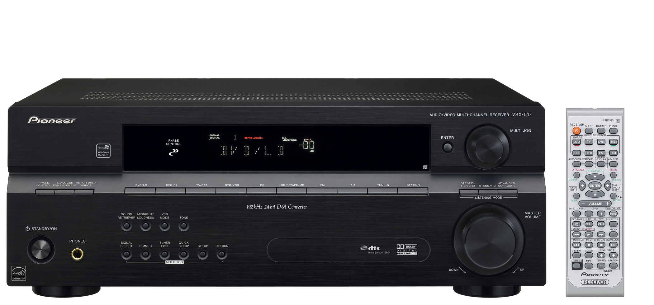 Pioneer Vsx 517k Av Receiver Preview Audioholics