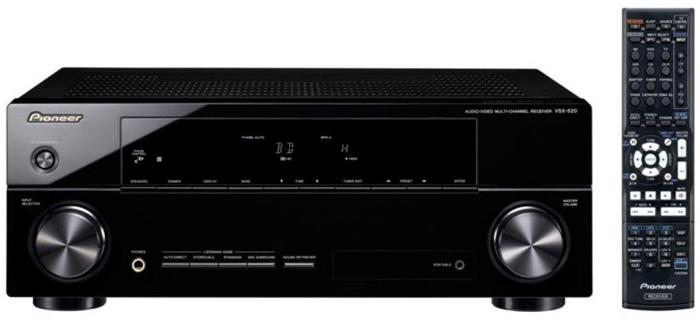 Pioneer VSX-520-K Receiver Preview   Audioholics