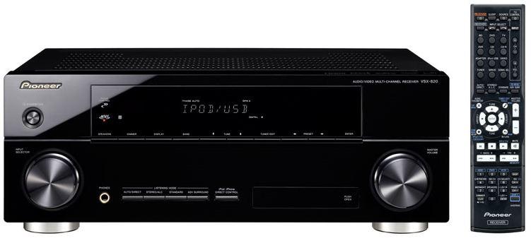 Pioneer Vsx 820 K Receiver Preview Audioholics