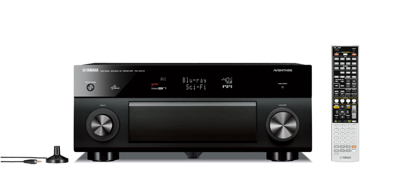 Yamaha RX-A1010 AVENTAGE 7 1 Channel Networking A/V Receiver