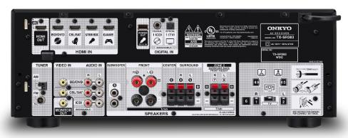 Onkyo TX-SR383 7 2-Channel AV Receiver Inflates Power but