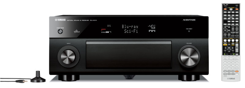 Yamaha+RX-A1010+AVENTAGE+AV+Receiver+Preview