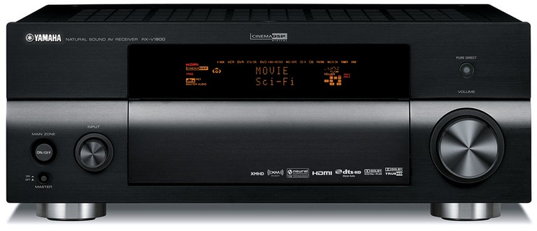 Yamaha RX-V1800 7 1 Channel Home Theater Receiver | Audioholics