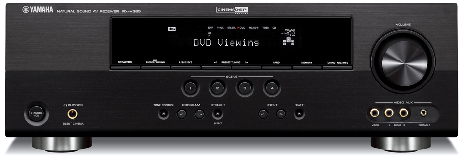 Yamaha Rx V365 5 1 Home Theater Receiver Preview Audioholics